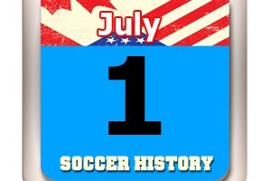 THIS DAY IN SOCCER HISTORY  JULY 1
