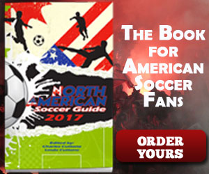 The most complete source of information on North American Soccer. Get Yours now.