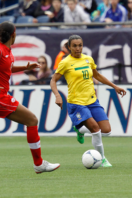 Five time world player of the year Marta joins the Orlando Pride